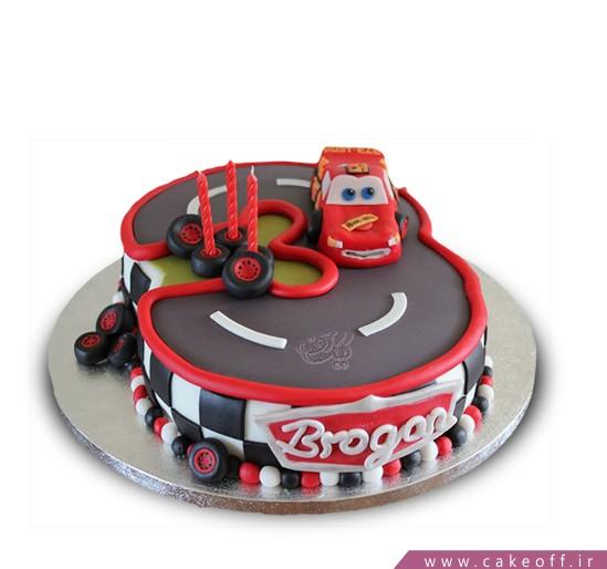 کیک بچه گانه روز مسابقه