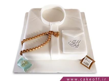 کیک روز پدر - کیک بابای با ایمانم | کیک آف
