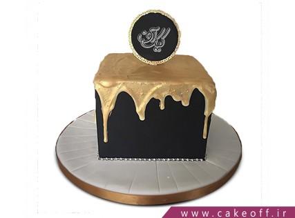 سفارش کیک خاص - کیک چکه طلا | کیک آف