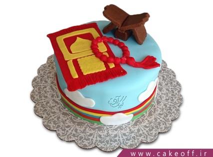 کیک تولد مذهبی - کیک رحل و تسبیح | کیک آف