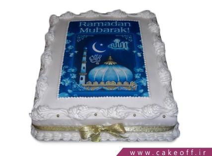 کیک ماه رمضان - کیک به رنگ خدا | کیک آف
