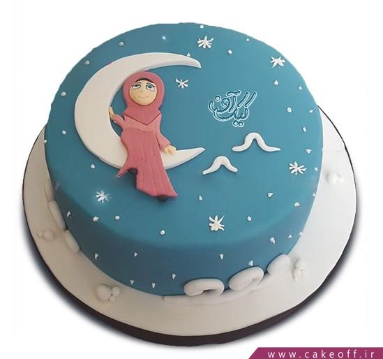 کیک ماه رمضان - کیک ماه خدا | کیک آف