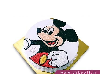 مدل کیک تولد دخترانه جدید - کیک میکی موس بازیگوش | کیک آف