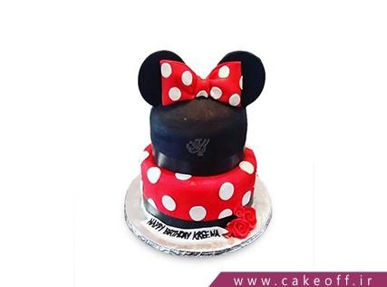 مدل کیک تولد دخترانه جدید - کیک مینی موس طبقاتی | کیک آف