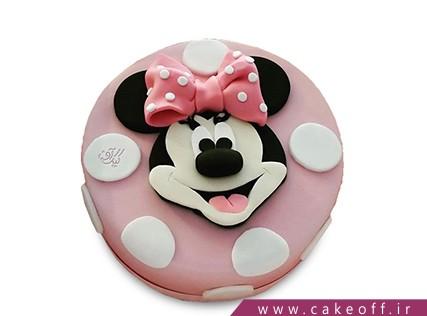 مدل کیک تولد دخترانه جدید - کیک مینی موس با نمک | کیک آف
