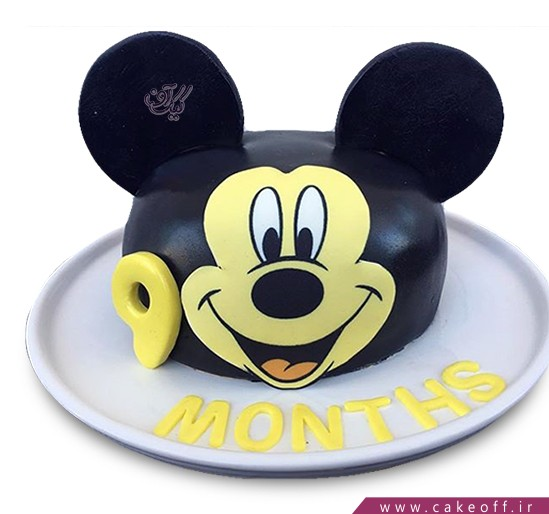 کیک تولد بچگانه - کیک میکی موس فوندانتی | کیک آف