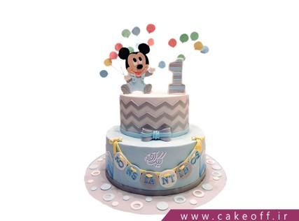 کیک پسرانه میکی موس و رویای بادکنک ها | کیک آف