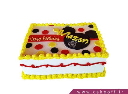 کیک تولد بچه - کیک تولد میکی موس آریا | کیک آف