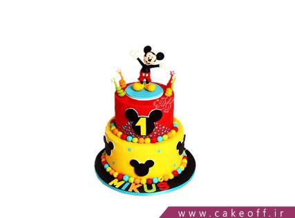 کیک تولد دخترانه جدید - کیک تولد میکی موس شاداب | کیک آف