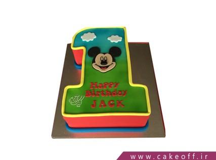 کیک تولد کودک پسر
