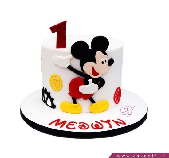 کیک تولد پسرانه جدید - کیک تولد میکی موس وارد می شود | کیک آف
