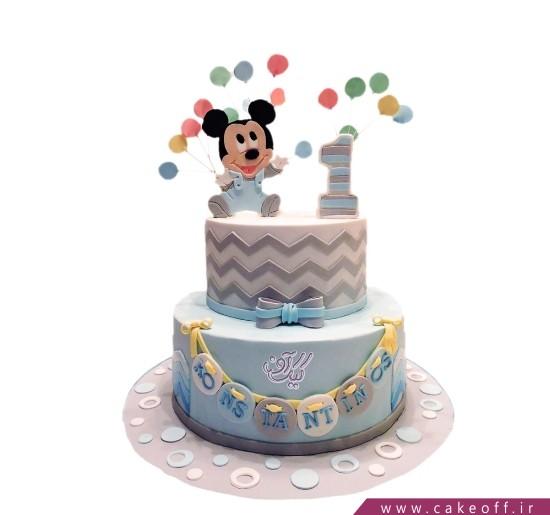 کیک پسرانه میکی موس و رویای بادکنک ها