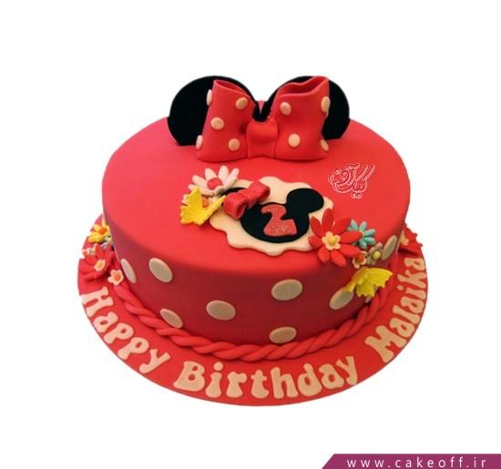 کیک تولد مینی موس نیوشا