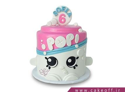 کیک فوندانتی - کیک فانتزی کف صابون | کیک آف