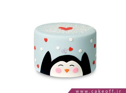 کیک بچگانه فانتزی - کیک پن،پن،پنگوئن | کیک آف