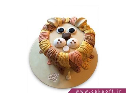 کیک حیوانات - کیک شیر پاییزی | کیک آف