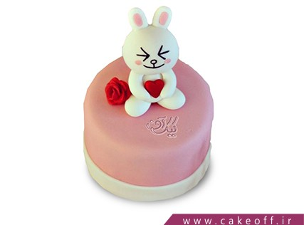 کیک تولد تک خرگوش | کیک آف