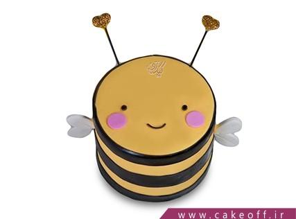 کیک تولد - کیک زنبور طلایی   کیک آف