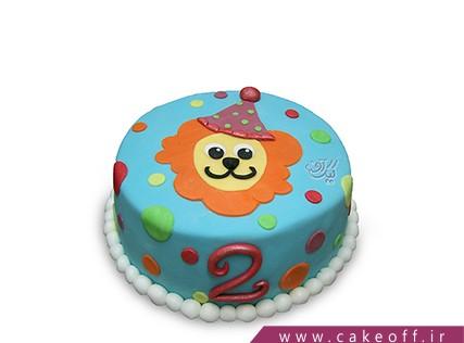 کیک تولد شیر حنایی | کیک آف
