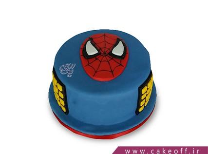 کیک شخصیت های کارتونی - کیک مرد عنکبوتی 8 | کیک آف