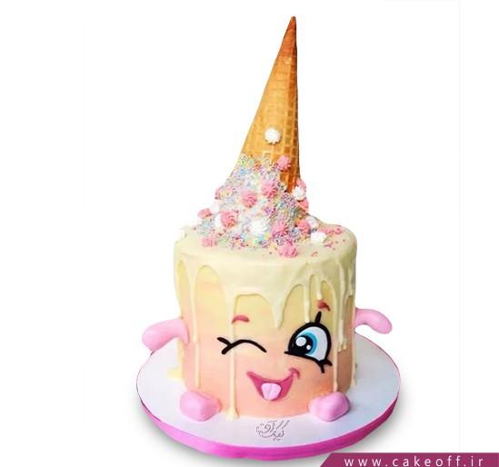 سفارش کیک چکه ای - کیک چِک،چِک،بستنی | کیک آف