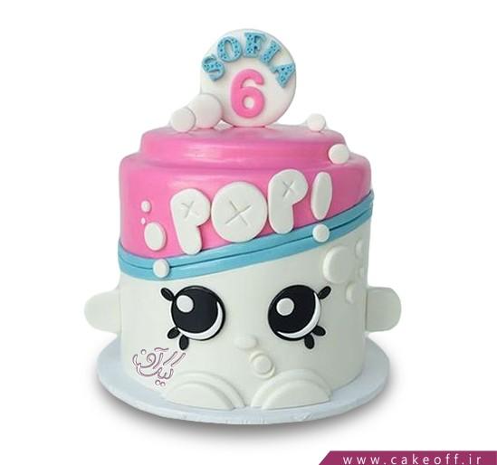 سفارش کیک فانتزی - کیک فانتزی کف صابون | کیک آف