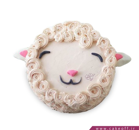 کیک بره پشمالو