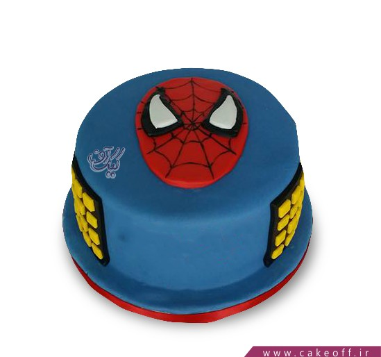کیک مرد عنکبوتی 8