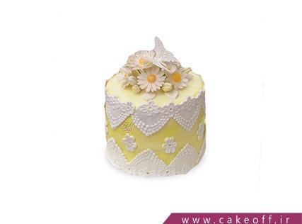 کیک تولد زیبا - کیک گل از نو | کیک آف
