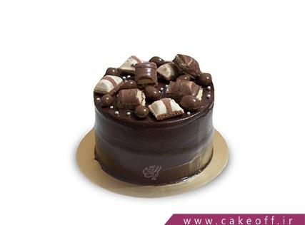 سفارش آنلاین کیک در اصفهان - کیک کاکائویی تکه شکلات | کیک آف