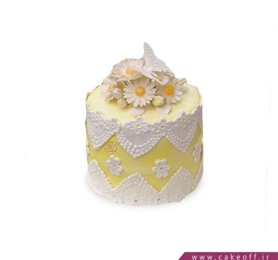 کیک تولد زیبا - کیک گل از نو   کیک آف