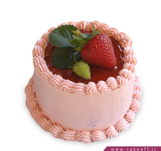 انواع کیک تولد - کیک توت فرنگی من | کیک آف