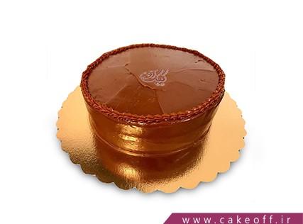 سفارش کیک آنلاین در اصفهان - کیک کاکائویی ساده | کیک آف