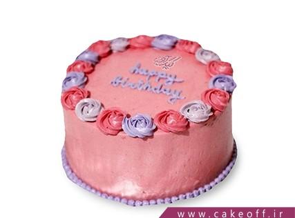کیک یخچالی ساده و خوشمزه - کیک بهترین گل | کیک آف