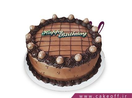 سفارش کیک تولد - کیک کاکائو خامه | کیک آف