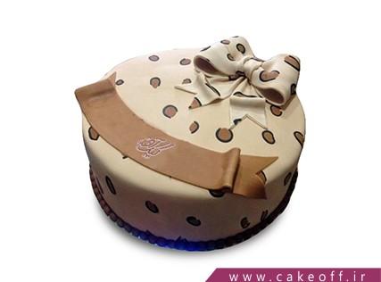 فروشگاه اینترنتی کیک - کیک پاپیون پلنگی | کیک آف