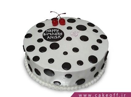 فروش کیک اینترنتی - کیک دونه مشکی | کیک آف