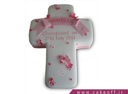 کیک اقلیت های مذهبی - کیک صلیب گلباران | کیک آف