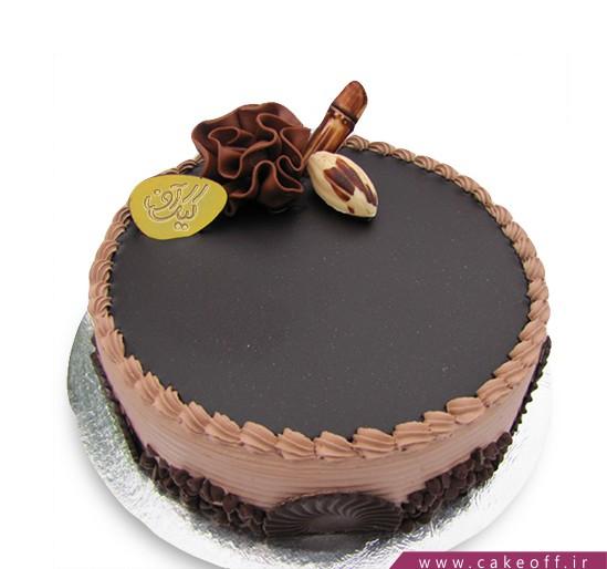سفارش کیک در اصفهان - کیک کرم کاکائو | کیک آف