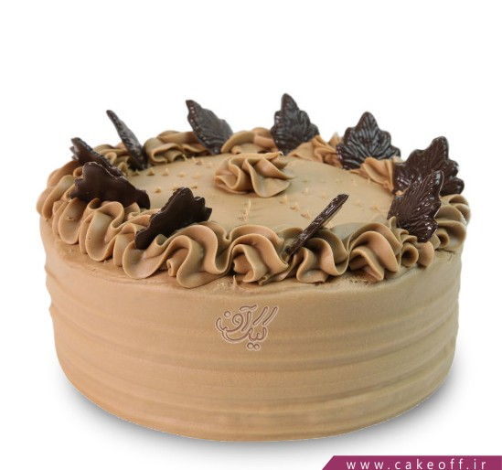 فروشگاه کیک آنلاین - کیک نسکافه ای ساده | کیک آف