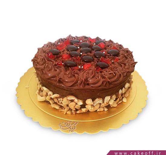 کیک اسمارتیز شکلاتی