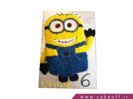 کیک مینیون - کیک مینیون سلام می کند | کیک آف