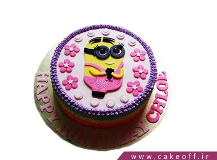 کیک تولد مینیون