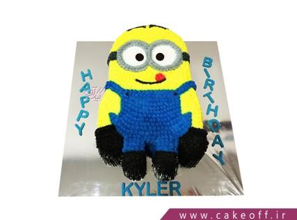 کیک تولد مینیون - کیک مینیون آرام | کیک آف