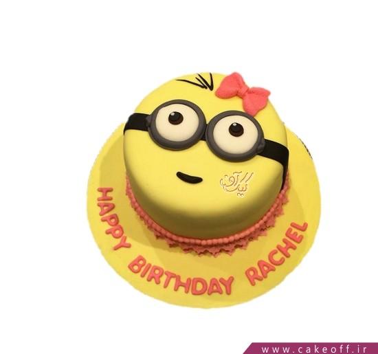 کیک تولد مینیون - کیک دختر مینیونی   کیک آف
