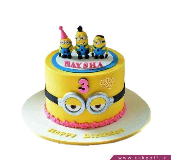 کیک تولد مینیون - کیک مینیون ها به تولد می روند | کیک آف