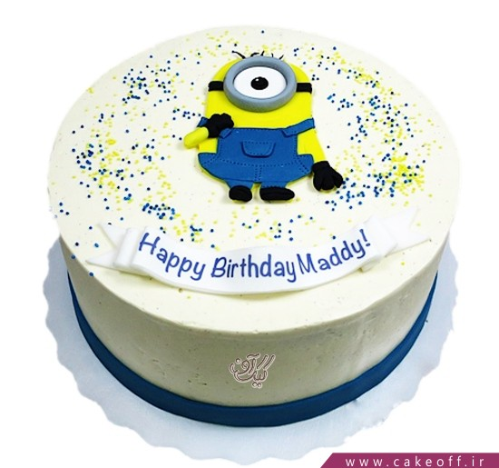 کیک مینیون دوست داشتنی