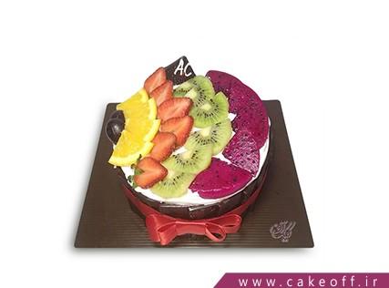 سفارش اینترنتی کیک - کیک میوه ای 1 | کیک آف