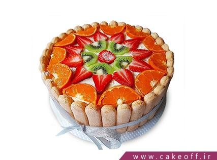 سفارش کیک میوه در اصفهان - کیک میوه ای 2 | کیک آف