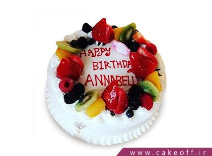 کیک با تزیین میوه - کیک میوه ای 4 | کیک آف